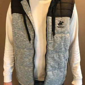 Brand New Hooded Vest with Tags